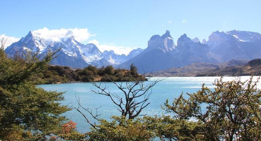 Cenário paradisíaco no Chile
