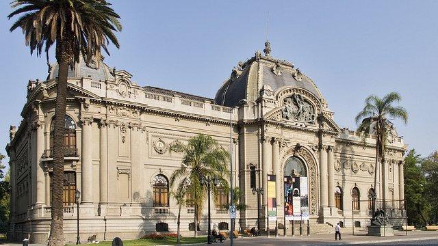 Museu belíssimo no Chile
