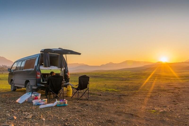 Viajando de carro pelo Chile