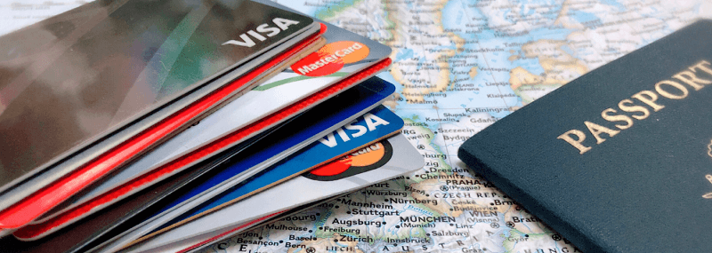 Cartão de crédito para viajar ao exterior