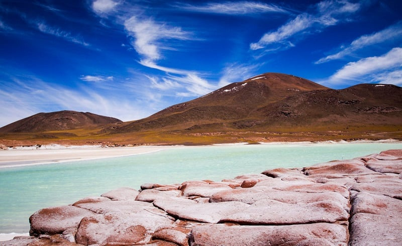 Diferença de fuso horário mês a mês no Chile