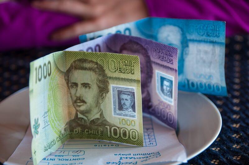 Pesos chilenos - San Pedro de Atacama