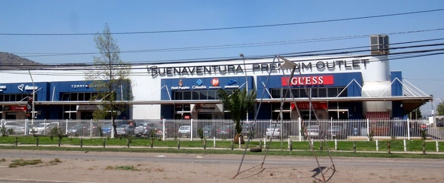 Outlet Buenaventura em Santiago
