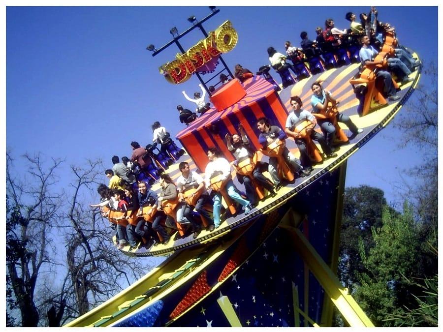 Parque de diversões Fantasilândia Santiago Chile