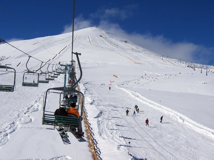 Quando tem neve para esquiar no Chile