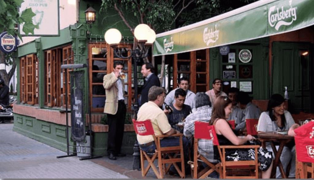 Bar Flannery's Irish Geo Pub em Santiago do Chile