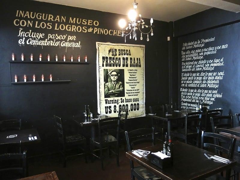 Bar The Clinic em Santiago do Chile