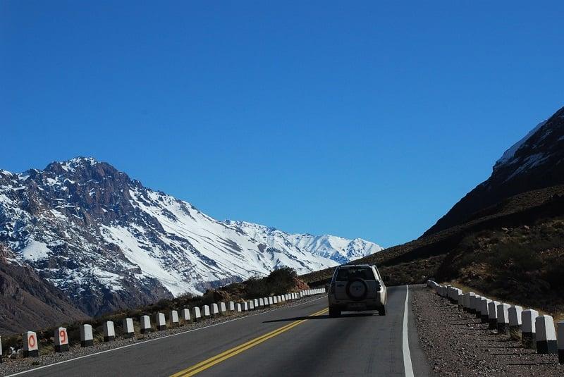 Carro em Santiago - Chile