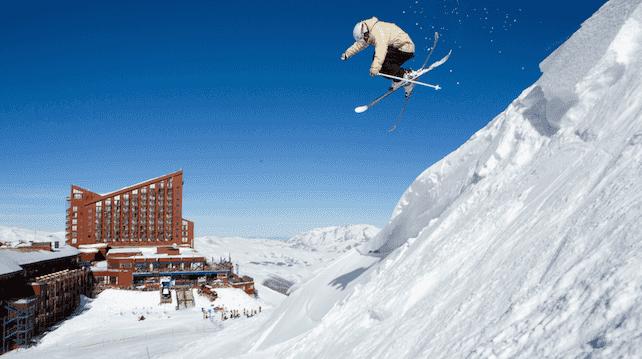 Pista de esquiar Valle Nevado