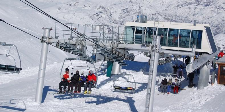 Pista de esquiar La Parva