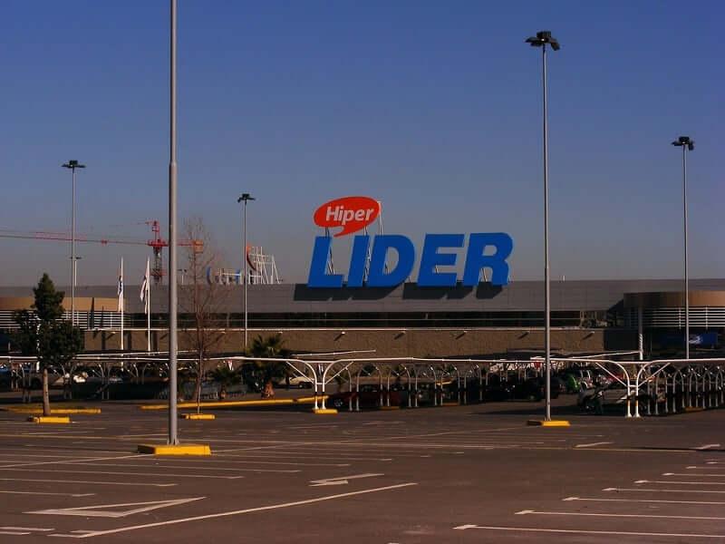 Compras nos supermercados em Santiago - Lider