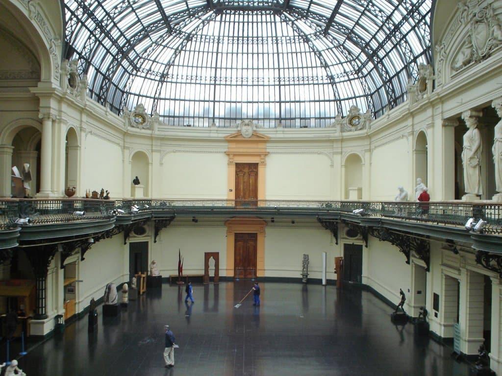 Museu Nacional Belas Artes em Santiago