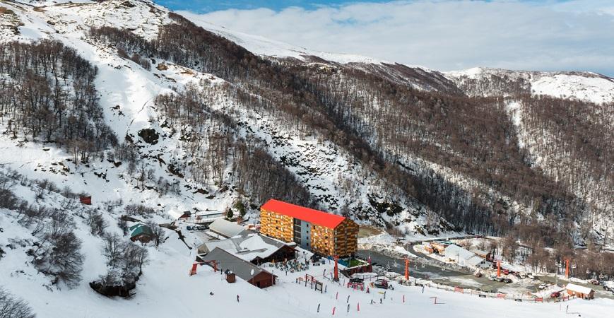 Cidades com neve no Chile