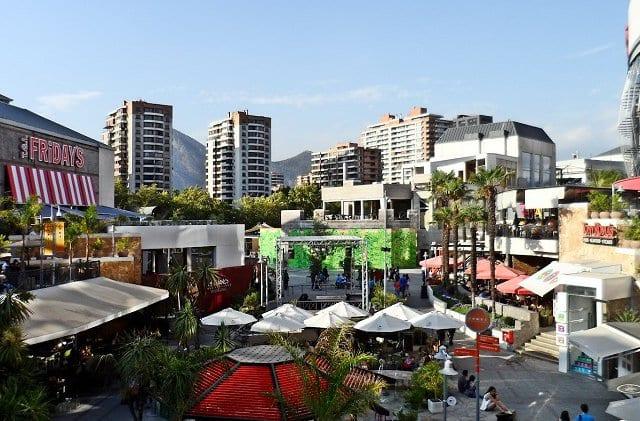 Shopping Parque Arauco em Santiago do Chile