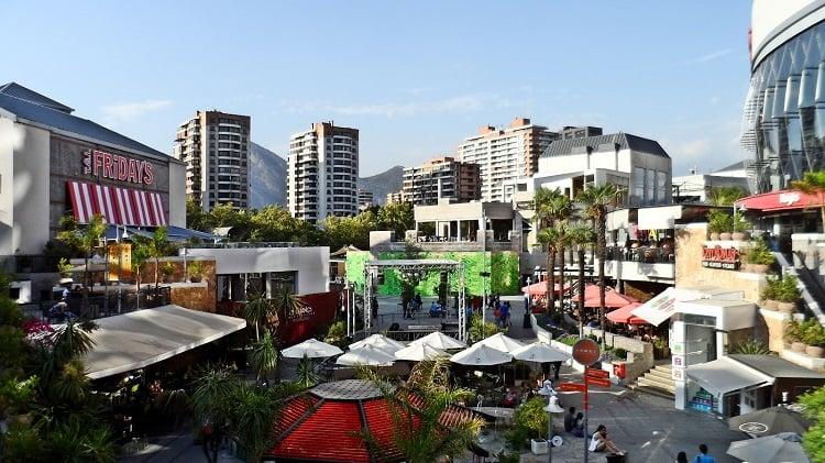 Shopping Parque Arauco em Santiago do Chile - Compras