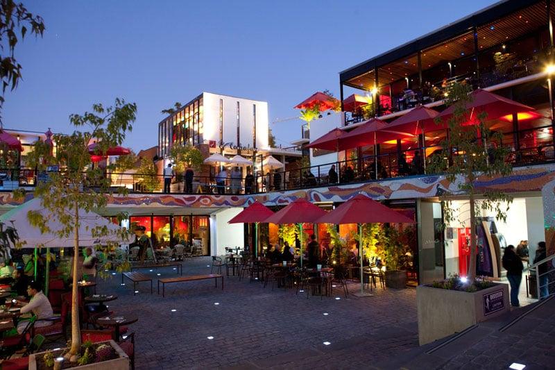Região para se hospedar em Santiago do Chile: Bella Vista