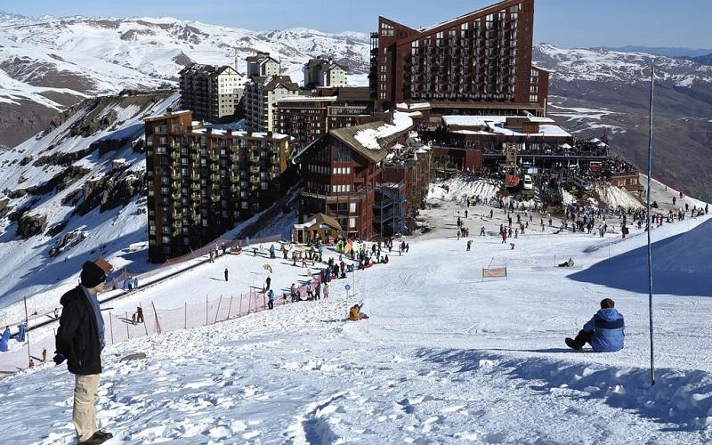 Pista para esquiar - Santiago
