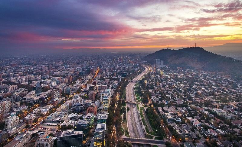 Santiago do Chile - Panorâmica