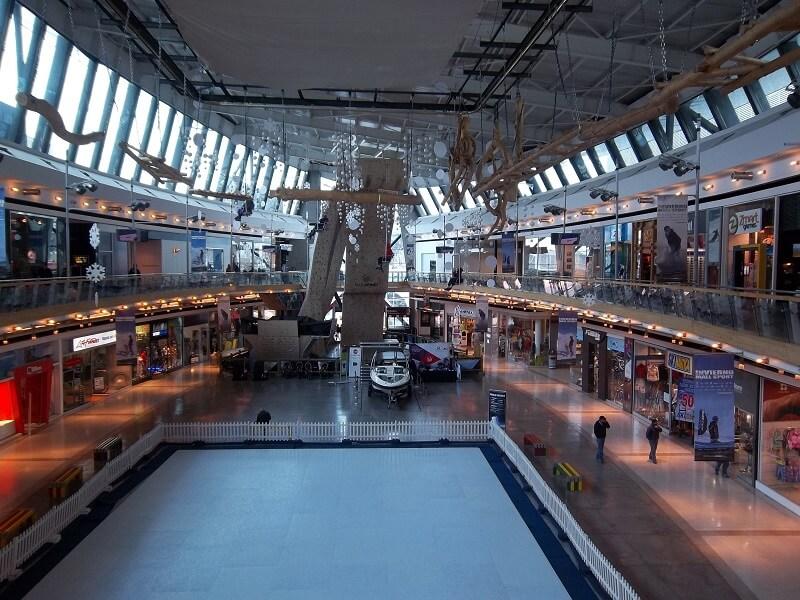 Shopping em Santiago