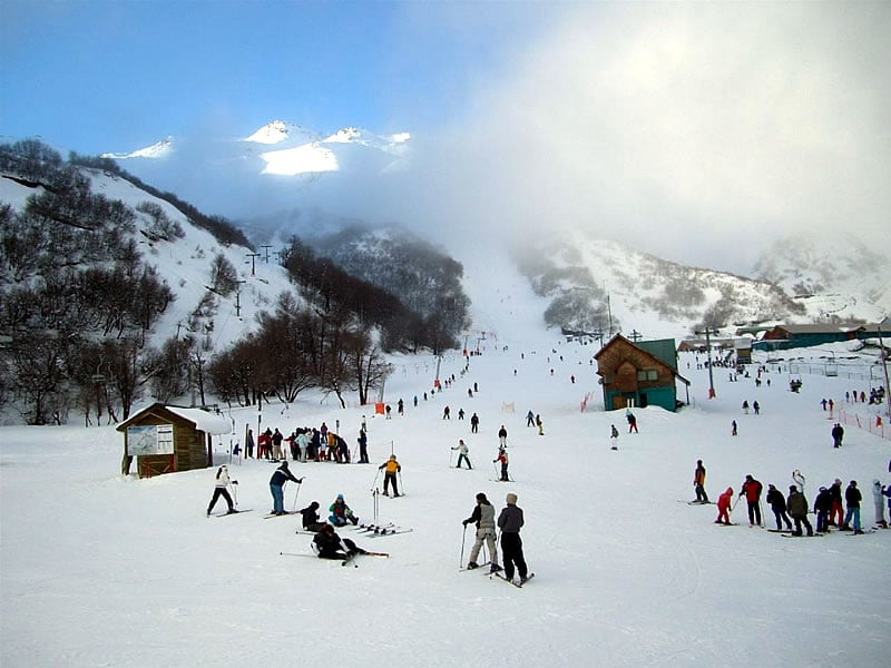 Pista de esquiar Termas de Chillán