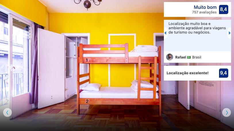 La Casona Hostel em Santiago do Chile