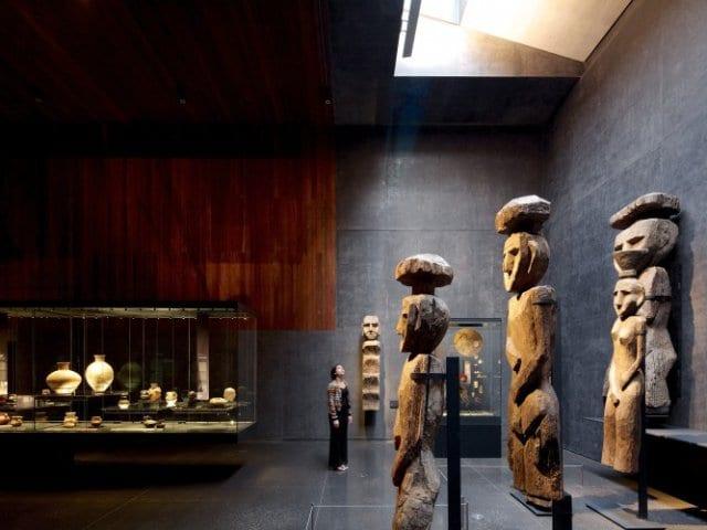 Museu Chileno de Arte Pré-Colombiana em Santiago do Chile