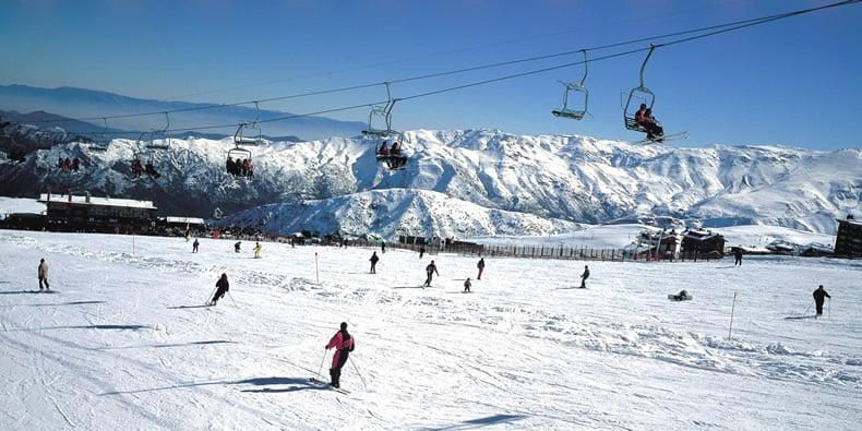 Estação de esqui nas proximidades de Santiago
