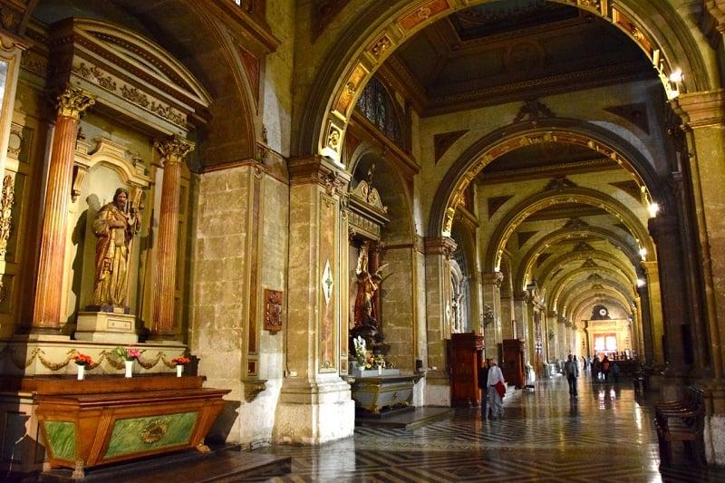 Visita à Catedral Metropolitana do Chile