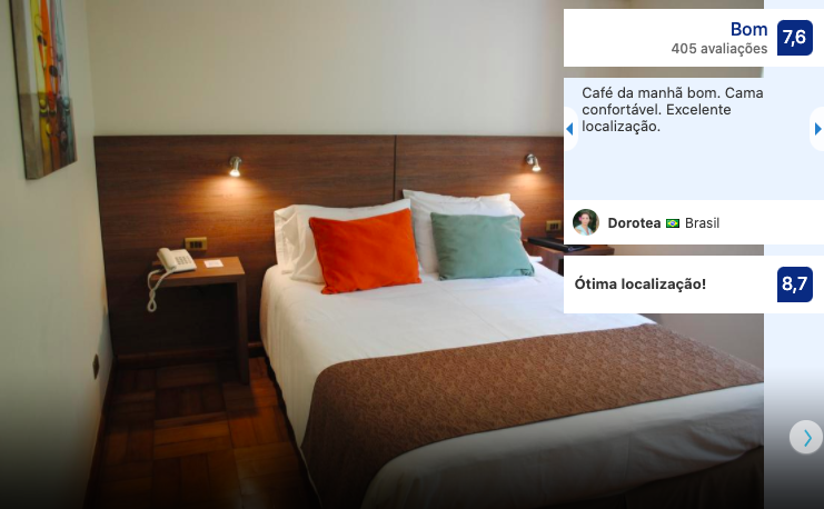 Hotel Santa Lucia em Santiago
