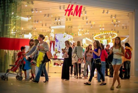 Lojas no Shopping Costanera Center em Santiago