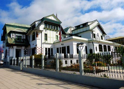 Museu Municipal de Belas Artes em Valparaíso