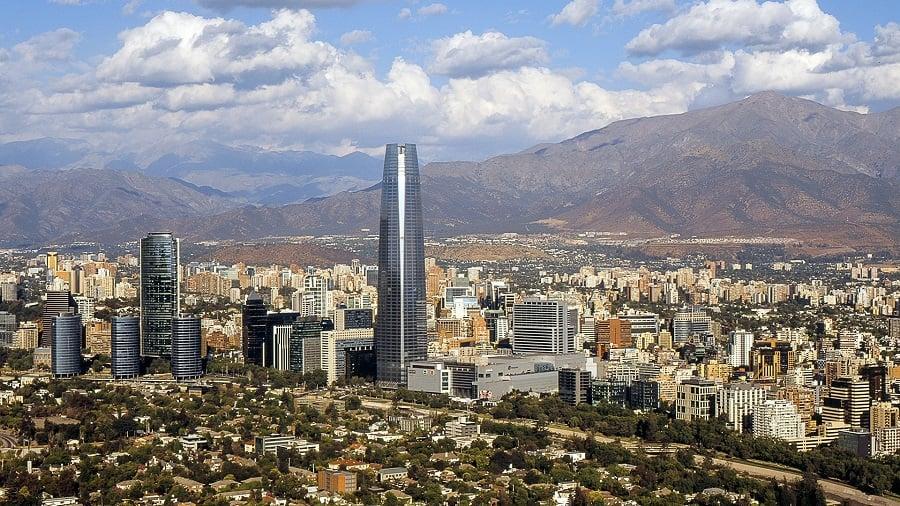 Shopping Costanera Center em Santiago do Chile