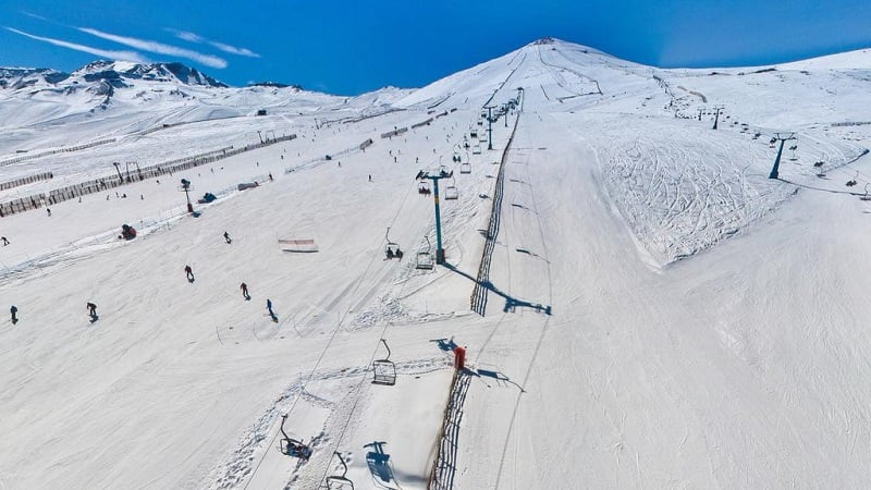 Quanto custa visitar a estação de esqui El Colorado?