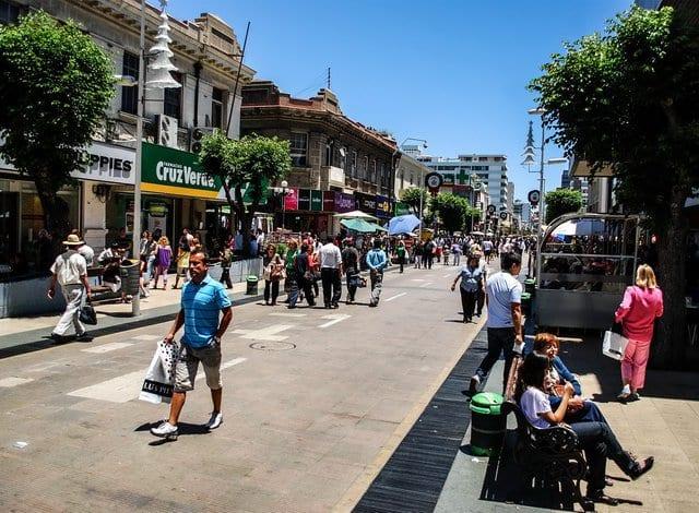 Compras em Valparaíso