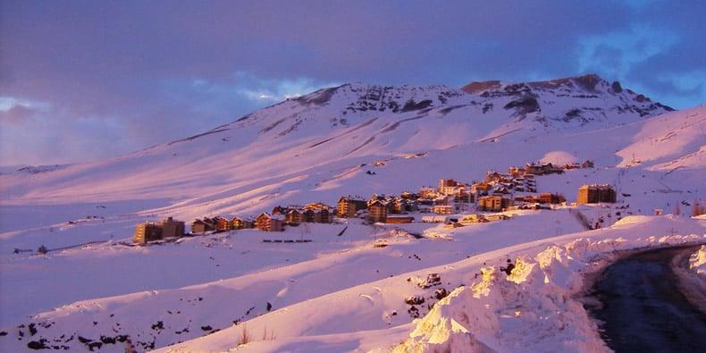 Quando funciona a estação de esqui La Parva?