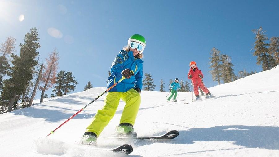 Pistas e aprender a esquiar em La Parva
