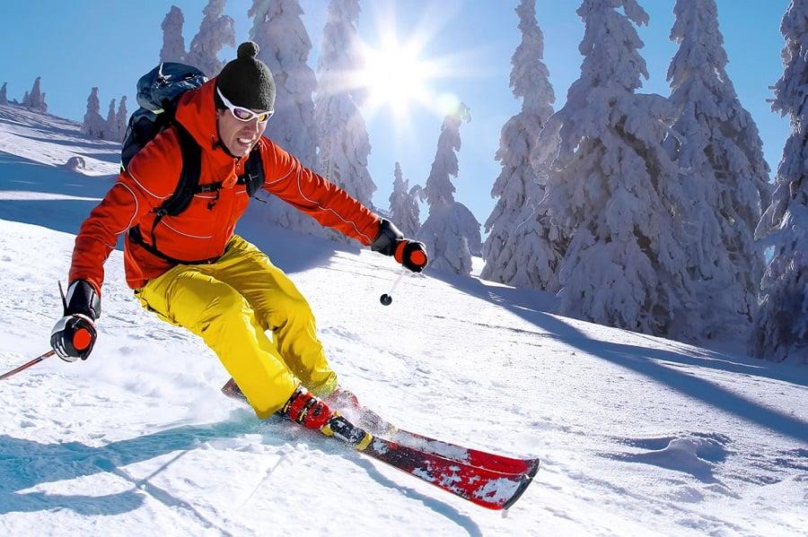 Pistas de esquiar em Santiago do Chile