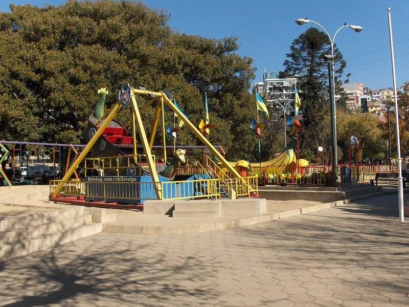 Plaza Simón Bolivar em Valparaíso