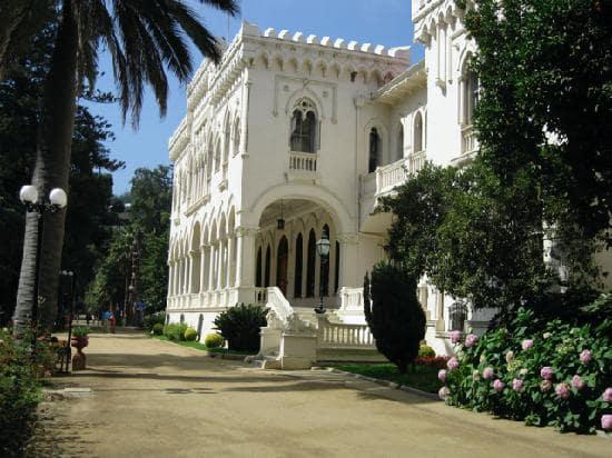Compras no Parque Quinta Vergara em Viña del Mar