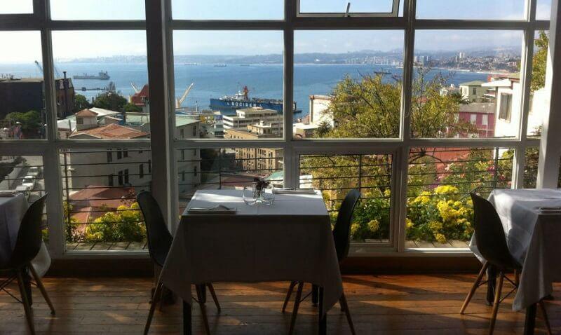 Restaurante de La Concepción em Valparaíso