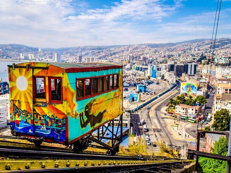 Panorâmica de Valparaíso