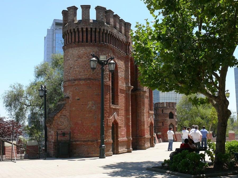 História do Cerro Santa Lucía