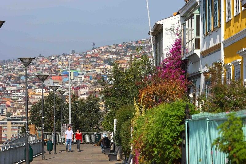 Idioma em Valparaíso