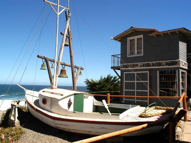 Historia do museu Casa Isla Negra