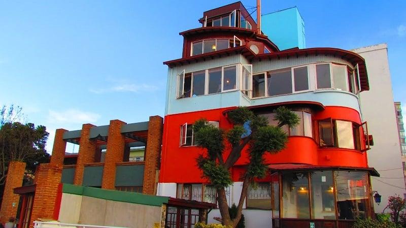 Casa La Sebastiana em Valparaíso