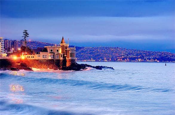 Castillo Wulff em Viña del Mar