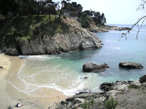Praia de Los Enamorados em Viña del Mar