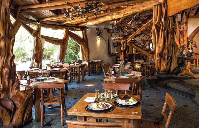 Conhecendo o restaurante Casa Bosque