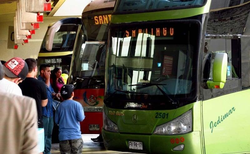 Como andar em Viña del Mar: ônibus