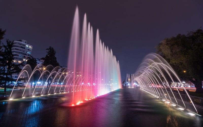 Parque Balmaceda em Santiago
